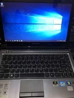 """Lenovo V370 13.3"""" Notebook Intel Core i5-2410M 2.30GHz 6GB DDR3 RAM 750GB HDD GeForce 410M 正版 Windows 10"""