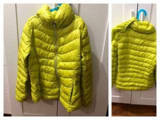 (Used) 90% puff collar down filling down jacket 90% 羽絨外套