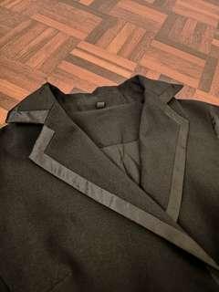 Black Former Sleeveless Dress