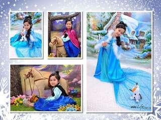 LifeStudio.hk 兒童造型+家庭照 優惠攝影套餐