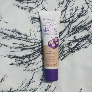 Rimmel Stay Matte Mousse Foundation (103 True Ivory)