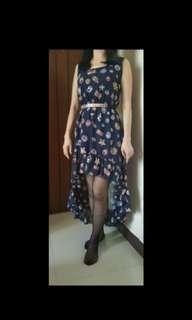 Long Hilo Dress & Polkadot Top (2 items)