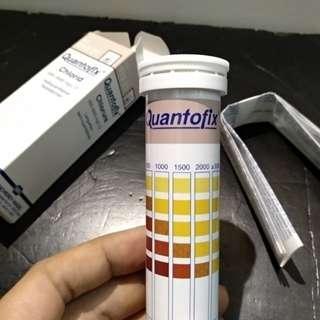 德國MN 氯化物試紙 8條 鹹淡水試紙 滲水漏水檢測 quantofix chloride test paper 鹽度計