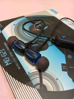 🚚 磁吸藍芽耳機(TF插卡支援)