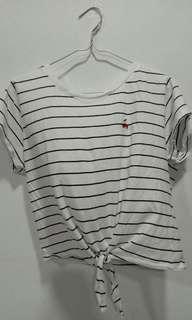 cherry striped top