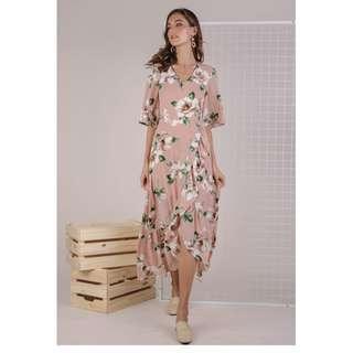 TTR edith floral maxi dress