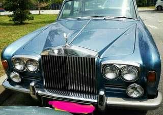 Superclassic Rolls Royce Silver Shadow 1966