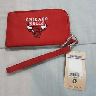 Legit Brand New With Tags Profanity NBA Chicago Bulls Phone Wallet Pouch