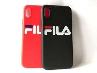 🚚 FILA iPhone X Soft Phone case