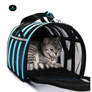 🚚 Pet Dog Cat Mesh Breathable Foldable Carrier Bag