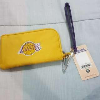 Legit Brand New With Tags Profanity NBA Los Angeles Lakers Phone Wallet Pouch