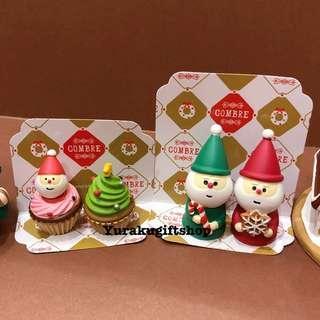 Decole concombre 18聖誕擺設 雙子聖誕老人 Set