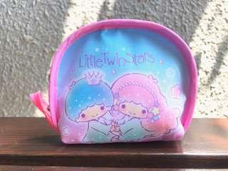 Authentic little twin stars coin pouch with key ring