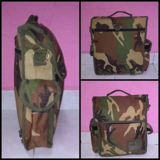 Army Backpack or Brief case Without Strap