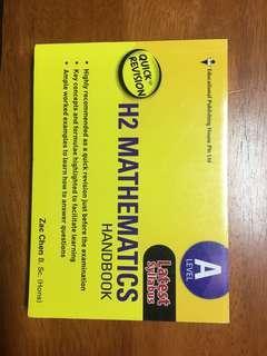 A-Levels H2 Mathematics Handbook