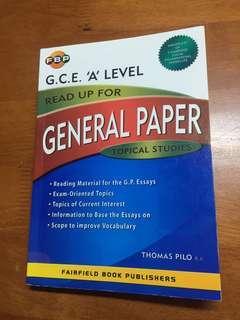 General Paper Topical Studies