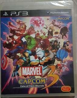 PS3 Marvel vs. Capcom 3: Fate of Two Worlds