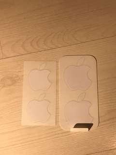 Apple stickers @2 pcs