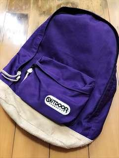 Outdoor 背囊 backpack 紫色