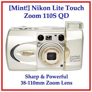 [Mint!] Nikon 35mm Film Camera with 38-110mm Zoom Lens