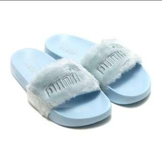 Puma lead cat fur Badminton shoes slippers