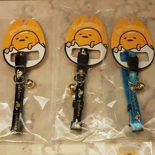 Gudetama collar for dogs. S size and M size