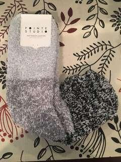 Aloe Infused Fuzzy Workout Socks - NEW!
