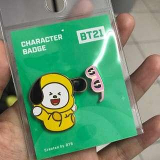 BT21 OFFICIAL BADGE