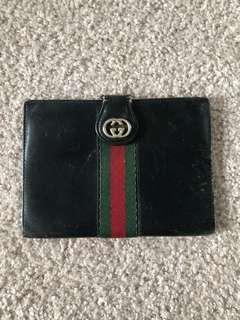 AUTHENTIC GUCCI Vintage Passport Wallet