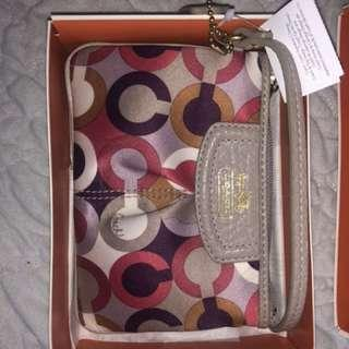 NEW with tags Coach Wristlet/Wallet