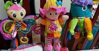 Playgro and Lamaze toys