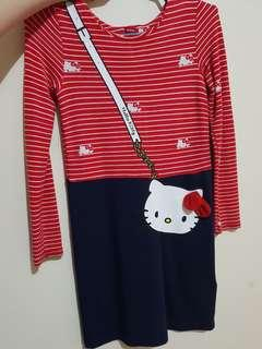 Hello kitty H&M dress