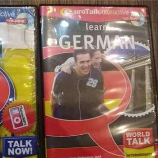 Learn German CD Software