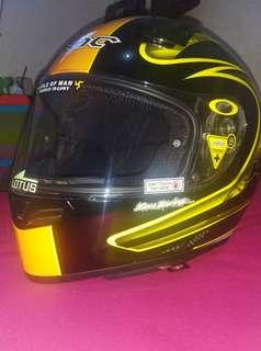 HELM KBC VK ZERO YELLOW BLACK XL Mint Condition
