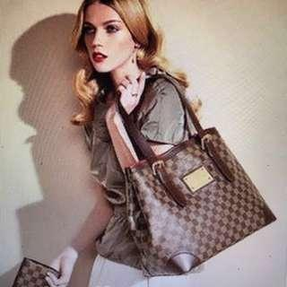 Louis Vuitton Hampstead PM Damier Tote