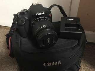 Canon Rebel T5 (negotiable)