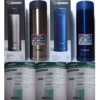 🚚 Thermos bottle/象印/ZOJIRUSHI/保溫杯/500cc/藍色/不鏽鋼保溫杯