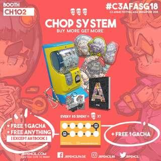 Chop System   AFASG 2018   Booth CH102