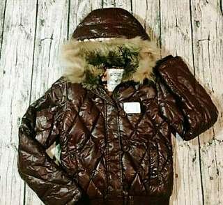 🚚 (自出價) 小香風 (Edwin) 愛德恩 5th STREET 羽絨外套 帽t連帽外套 便宜賣 #十一月女裝半價