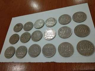 Uang Kuno Rp 100 tahun 1973