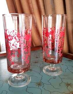 Red Footed Glasses