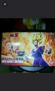 Dragonball z figure rise model kit super saiyan 2 son gohan