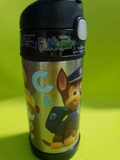 Thermos Funtainer Bnew Paw Patrol 12oz Insulated Straw Bottle