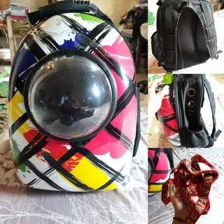Astraunout carier bag