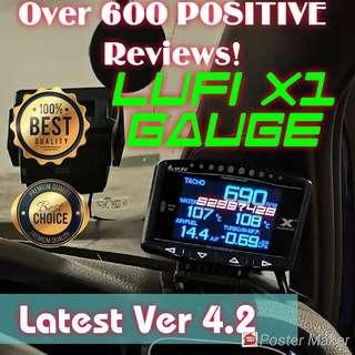 🏆682🏆 positive Reviews Other car made Lufi x1 OBD/OBD2 Gauge cars expo 2018