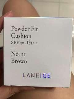 Laneige Powder Fit Cushion #31 Brown