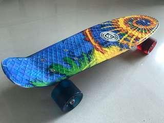 Skateboard 七彩魚尾滑板 99%New