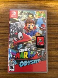 WTS Super Mario Odyssey