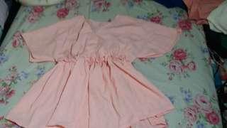 Diandra top dusty pink