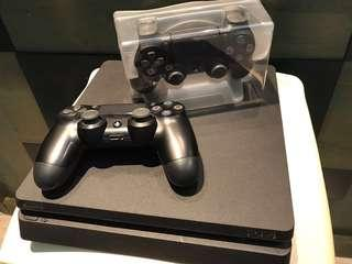Playstation 4 Slim with 2 Controllers and LBP 3